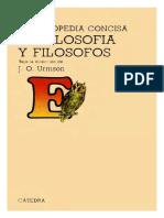 URMSON, ENCICLOPEDIA CONCISA DE FILOSOFIA y FILOSOFOS.pdf