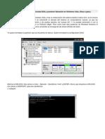 Formateo de Particiones Ocultas EISA y posterior liberación en Windows Vista