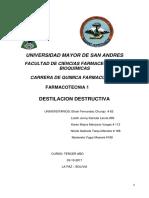 Destilacion Destructiva F-1.