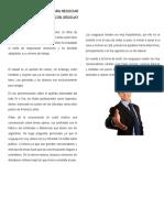 Pautas de Protocolo Para Negociar Con Uruguay