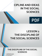2 Disciplines and Ideas in the Social Sciences