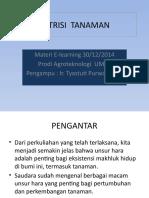 Nutrisi Tanaman-elearning 30 Des 2014