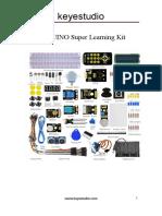 Ks0077 (78,79) ARDUINO Super Learning Kit