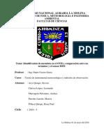 Informe Nº1 Teoria de Instrumental de Meteorología