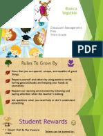 classrom managment plan