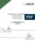 Programación de Contadores y Temporizadores