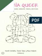 David Cordoba, Javier Saez, Paco Vidarte - Teoria Queer. Politicas Bolleras, Maricas, Trans, Mestizas