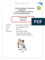 Monografia de Patologias Pulpares
