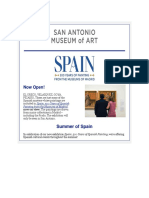 San Antonio Museum of Art  - Your ticket to Spain.pdf