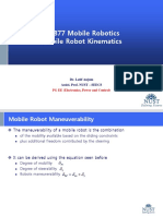 5 Mobile Robot Manueverability