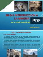 1. MI-341 Introducción a La Minería_04052018