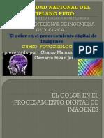 El Color en El Procesamiento Digital de Imágenes