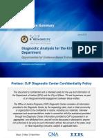 KPD Diagnostic Analysis Final 3