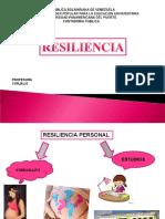 Proyecto Resiliencia Wilmary Sabariego