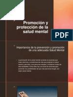 Promoción y Protección de La Salud Mental