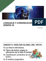 LyC 2018 10 Sesión 16 Macroestructura Texto IP