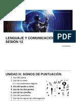 LyC 2018 10 Sesión 12 SP El Punto y Coma Los Dos Puntos y Las Comillas