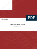 Fortisiem 4.10.0 User Guide