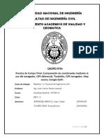 Informe Para Pc7 Geodesia