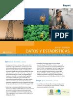 Agua y Energia - Datos y Estadisticas
