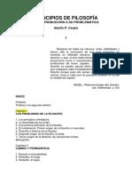 Carpio, Adolfo P - Principios de Filosofia Cap 1,2 y 3