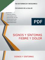 1. Fiebre y Dolor - III A