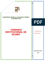 Sílabo Termodinamica Fabian Mosquera