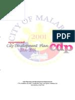 City Development Plan 2014 2016
