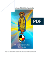 Novena in Honor of Saint Kateri Tekakwitha