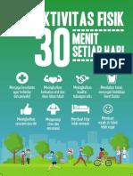 Flyer 2018 Aktivitas Fisik 15x21cm