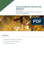 Evaluación de Proyectos Mineros