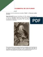 Dinámica Elemental de Los Fluidos Ecuacion de Bernoulli