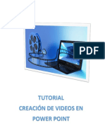 Tutorial Video Power Point