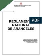 Reglamento Aranceles Cae 2010