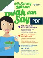 Flyer 2018 Buah Dan Sayur 15x21cm
