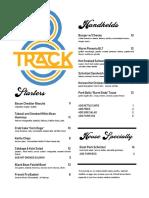 8 Track Menu