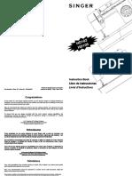 Manual HD102 - HD105 máquina singer