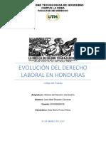 Evolución Del Derecho Laboral en Honduras