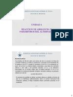 Unidad 4 Reacción de Armadura y Parametros Del Alternador