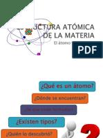 1.1.1 Estructura Atomica de La Materia