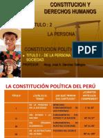 La Persona -Derechos Fundamentales - Copia