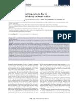 Hiperplasis Congenita AFRICA
