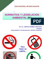 Normativa y Legislacion IV