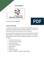 Programa de Educacion Ambiental para implantar en empresas