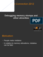 Debugging Memory Stomps Session