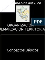 Demarcaci n Territorial