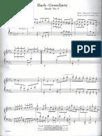 Bach Grandjany Etude No.9