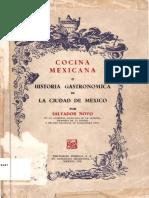 Cocina Mexicana, Historia Gastronómica de México