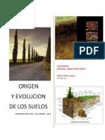 Origen y Evolucion de Los Suelos
