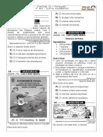 Simulado 31 (L. P - 3º Ano) - Blog Do Prof. Warles
